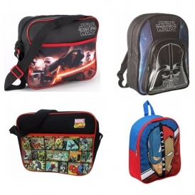 Half Price Star Wars / Marvel Bags