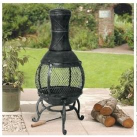 Garden Cast Iron Chiminea £29.99