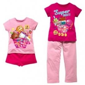 Shopkins 2 Pack of Pyjamas £9.99 @ Argos