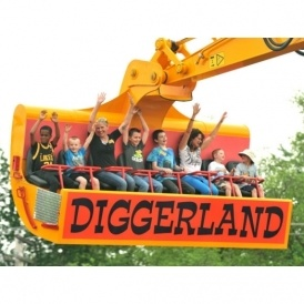 50% Off Diggerland Tickets