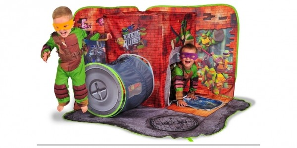 Teenage Mutant Ninja Turtles 3D Playscape £12.99 With FREE Delivery @ Argos eBay