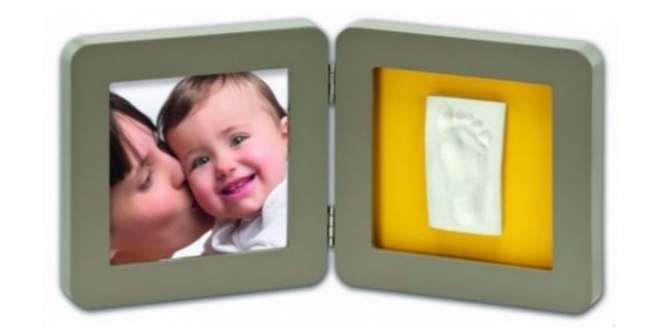 Baby Hand / Foot Print Frame Kit: Half Price, now £8.49 and Free Delivery @ Argos