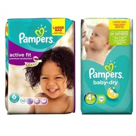 Two For £10 On Pampers Large Packs