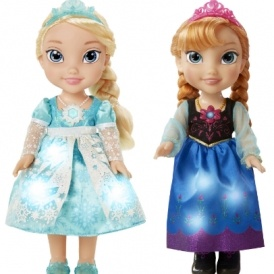 Disney Anna & Elsa Snow Glow Dolls £24.97