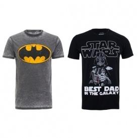 2 For £20 Character Men's T-shirts @ Zavvi