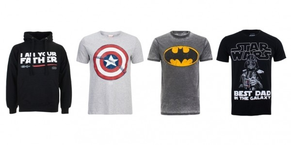 Father's Day: 2 For £20 Character Men's T-shirts @ Zavvi