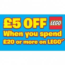 £5 Off Lego @ Smyths Toys