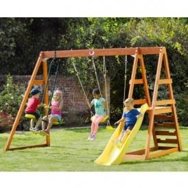 Plum Mandrill Wooden Playcentre £195