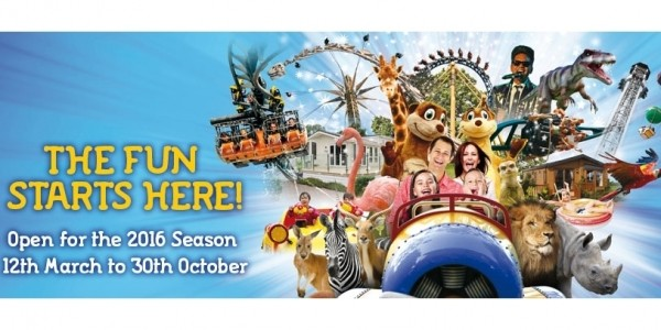 2 For 1 Flamingo Land Tickets Plus FREE Burger & Chips!