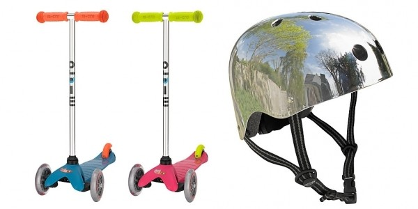 FREE Micro Helmet With Selected Mini Micro Scooters @ John Lewis