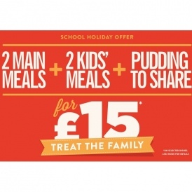 Treat The Family For £15 @ Hungry Horse