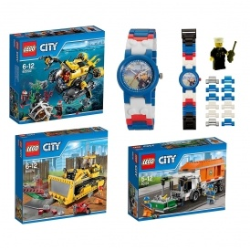 FREE Lego Watch With Lego City Sets
