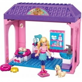 Mega Bloks Barbie Pet Salon £4.99 Delivered