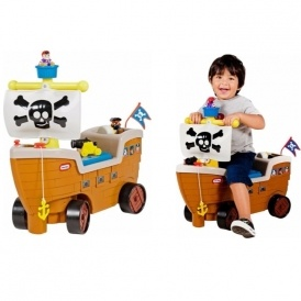 Little Tikes Play n Scoot Pirate Ship £24.99
