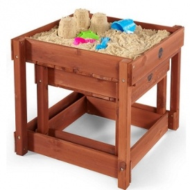 Plum Sandy Wooden Sand Pit & Water Play £70