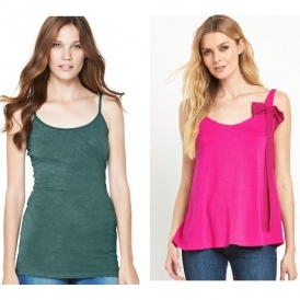 Women's Pack Of Three Vests £7 @ Very