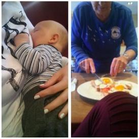 Breastfeeding Mum Helped By Kindly Stranger