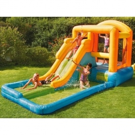 Giant Airflow Bouncy Castle & Pool @ Tesco