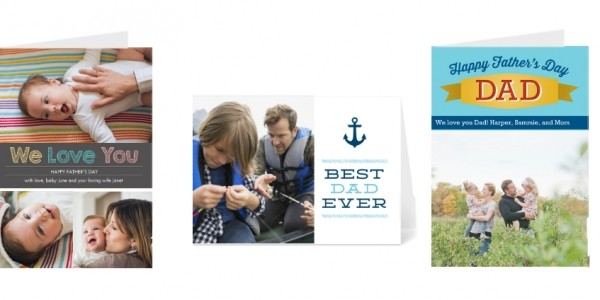 40% Off Father's Day Photo Cards @ Snapfish
