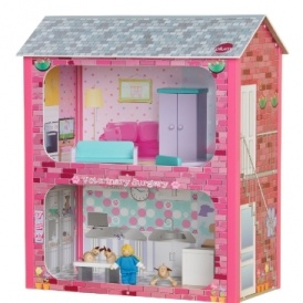 Plum Camden Court Wooden Dolls House £15