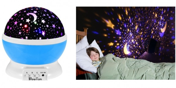 Starry Night Light Lamp £11.89 @ Amazon