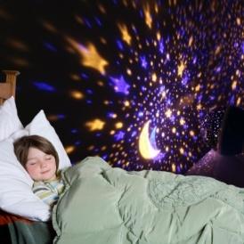 Starry Night Light Lamp £11.89 @ Amazon