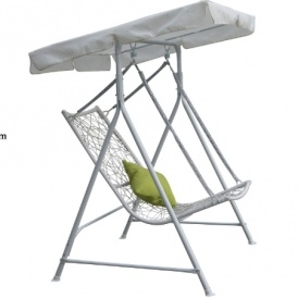 Rattan Swing Chair With Canopy £94.98 Del