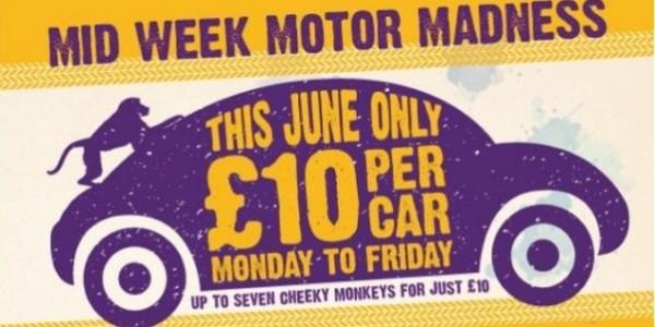 Knowsley Safari Park: £10 Per Car Weekdays in June