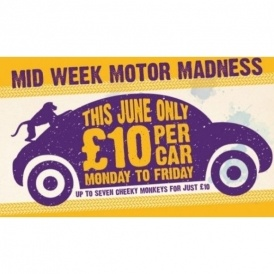 Knowsley Safari Park: £10 Per Car