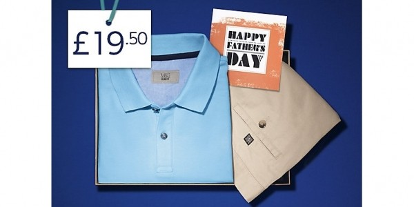 Father's Day Deal: Polo Shirt, Shorts & Card £19.50 @ Marks And Spencer