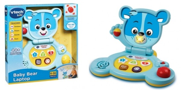 Vtech Baby Bear Laptop £9.74 With FREE Delivery @ Argos