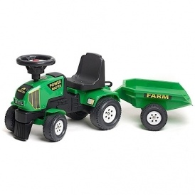 Falk Ride-on Tractor & Trailer £29.99