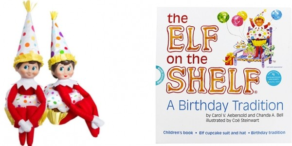 The Elf On The Shelf A Birthday Tradition: Book and Elf Suit £5.60 @ The Works