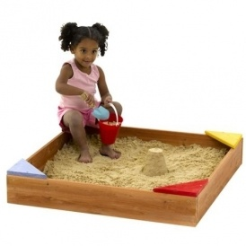Plum Junior Wooden Sandpit £15 @ Tesco