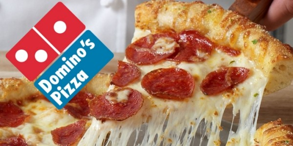 50% Off When You Spend £15 with code @ Domino's Pizza