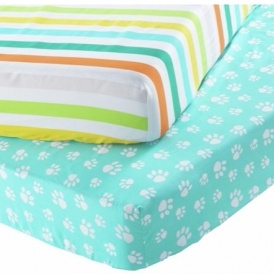 Chad Valley Toddler Fitted Sheet Sets £5.49