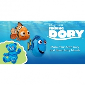 NEW Finding Dory Collection @ Build-a-Bear