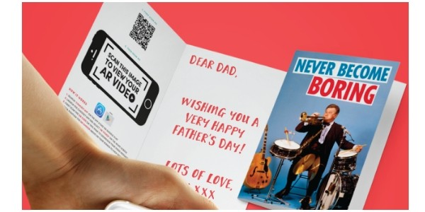 Make Your Own Father's Day Card For Just 99p Delivered @ O2 Priority