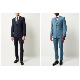 Up To £50 Off Men's Suits @ River Island