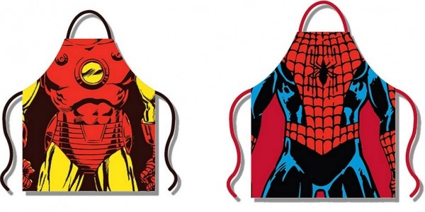 Iron Man/Spider-Man Apron £4.50 @ Debenhams