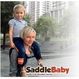 SaddleBaby Hands Free Shoulder Carrier