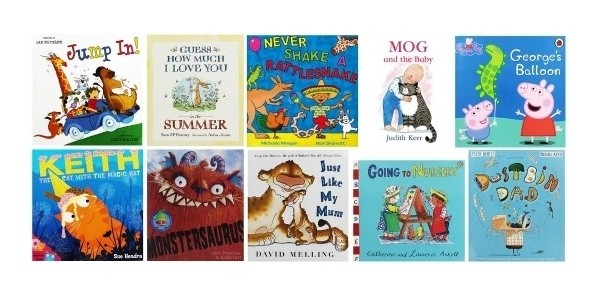 10 Children's Books For £10 @ The Works