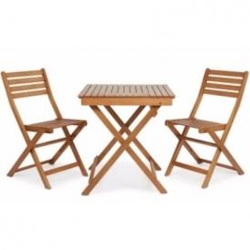 Wooden 2 Seater Bistro Set Now £35 @ B&Q