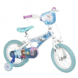 "Disney Frozen 14"" Girl's Bike £59 Delivered"
