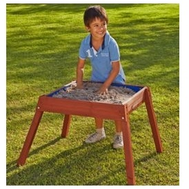 Raised Wooden Sand/Water Table £19.99