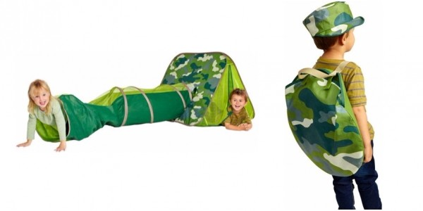 Chad Valley Camouflage Explorer Play Tent & Tunnel £14.99 @ Argos