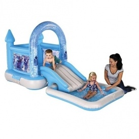 Frozen Bouncy Castle House, Slide & Pool