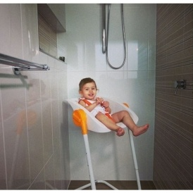 CharliChair: The Shower Chair For Babies