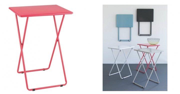 Habitat Airo Folding Table Pink 163 7 50 Argos