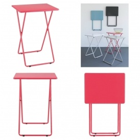 Habitat Airo Folding Table (Pink) £7.50